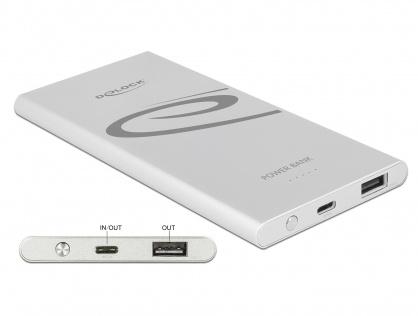 Baterie externa 5000 mAh 1 x USB-A, 1 x USB-C, Delock 41504