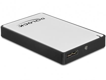 """Rack Extern 1.8"""" micro SATA HDD/SSD la USB 3.0, Delock 42487"""