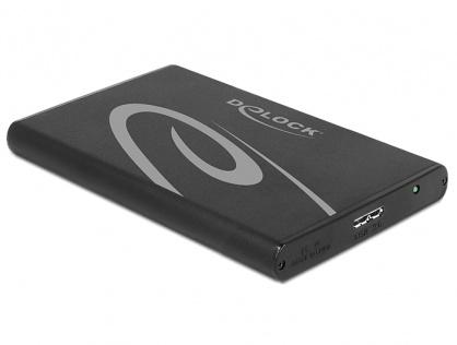 "Rack extern HDD 2.5"" SATA pana la 9.5mm la USB 3.0, Delock 42537"