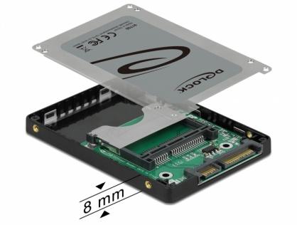 """Cititor de carduri 2.5"""" pentru carduri de memorie CFast, Delock 91750"""