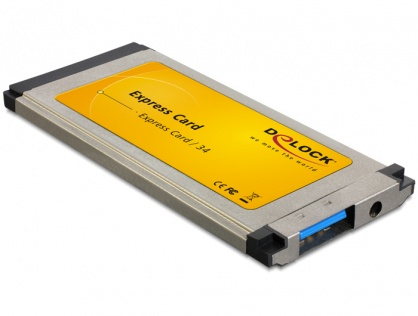 Placa ExpressCard la 1 port USB 3.0 slim, Delock 61872