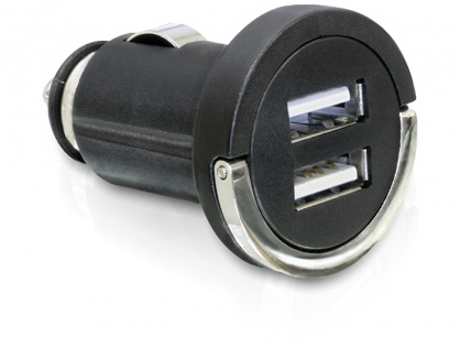 Incarcator auto 2 x USB 2A, Navilock 61958