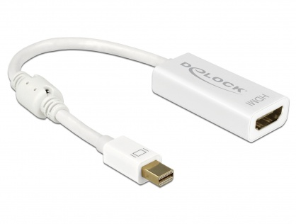 Adaptor mini Displayport la HDMI T-M 1.2 4K Pasiv Alb, Delock 62614