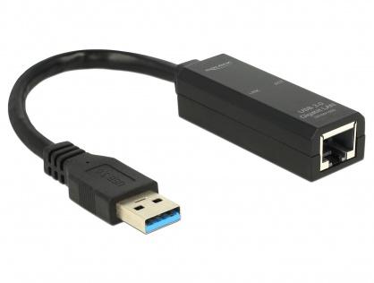 Adaptor USB 3.0 la Gigabit LAN 10/100/1000 Mb/s, Delock 62616