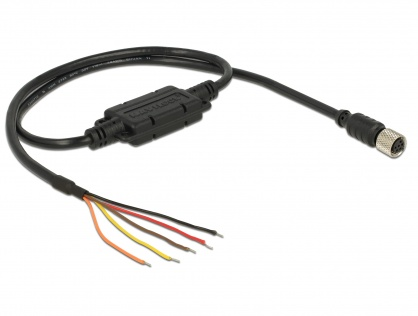 Cablu M8 waterproof la 5 fire deschise TTL (5 V), Navilock 62892