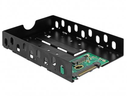 """Convertor U.2 SFF-8639 la M.2 NVMe Key M cu frame 3.5"""", Delock 63922"""