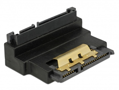 Adaptor SATA 22 pini T-M unghi 90 grade sus, Delock 63944