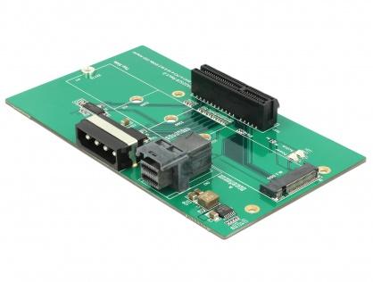 Adaptor U.2 SFF-8643 la PCIe/M.2 Key M slot, Delock 63952