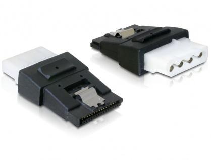 Adaptor alimentare Molex la SATA cu fixare M-M, Delock 65046