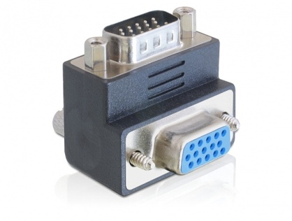 Adaptor VGA T - M unghi 270 grade, Delock 65290