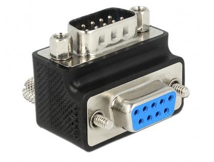 Adaptor serial D-SUB 9 pini unghi schimbabil T-M, Delock 65593