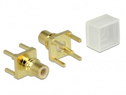 Adaptor SMC jack PCB, Delock 65850