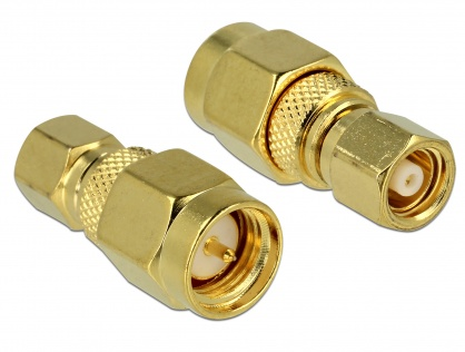 Adaptor SMC plug la SMA plug, Delock 65856