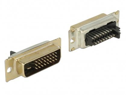 Conector de lipit DVI 24+1 pini tata, Delock 65883