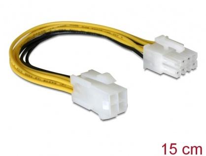 Cablu alimentare 8 pini EPS la 4 pini ATX/P4, Delock 82405
