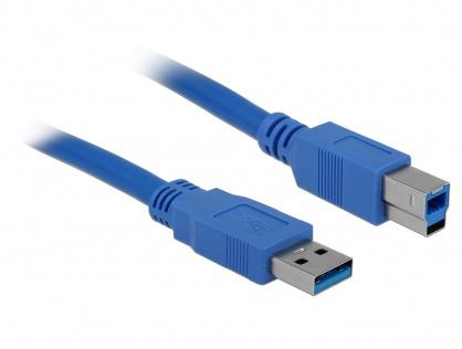 Cablu USB-B 3.0 la USB A T-T 3m, Delock 82581