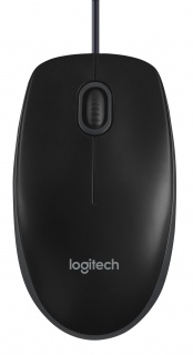 Mouse Logitech B100 Optical USB negru