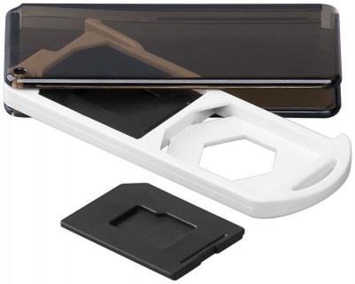 Cutie pentru depozitare carduri de memorie 2x SD/Micro SD/MMC, Goobay 95350
