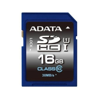 Card de memorie SDHC 32GB clasa 10, ADATA ASDH32GUICL10-R