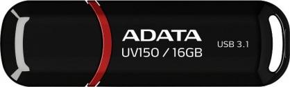 Stick USB 3.0 cu capac 16GB UV150 Negru, ADATA