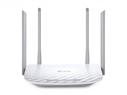Router 4 porturi wireless, AC1200, Dual Band, TP-LINK Archer C50