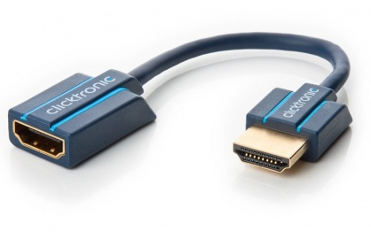 Cablu prelungitor HDMI Ultra HD 4k T-M 10cm, Clicktronic CLICK70700