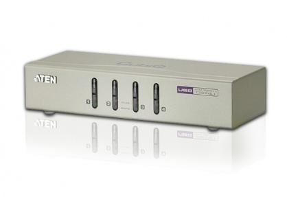 Switch KVM VGA cu USB 4 porturi, ATEN CS74U