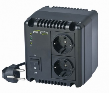 Stabilizator tensiune 500VA, Energenie EG-AVR-0501