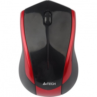 Mouse Wireless Optic A4Tech Black+Red, G7-400N-2