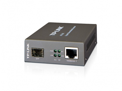 Media convertor Gigabit Ethernet RJ 45 - Multi-mode/Single-mode SFP, TP-Link MC220L