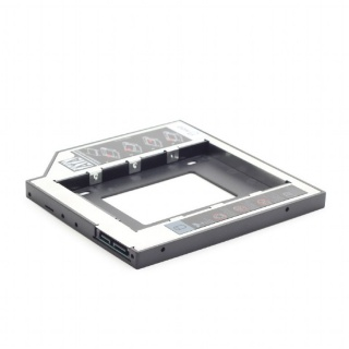 "INSTALLATION FRAME (CADDY) SLIM SATA 5.25"" 12.7mm  PENTRU 2.5"" SATA HDD, Gembird MF-95-02"