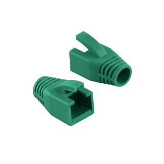 Manson cablu retea diametru max 8mm verde, Logilink MP0035G