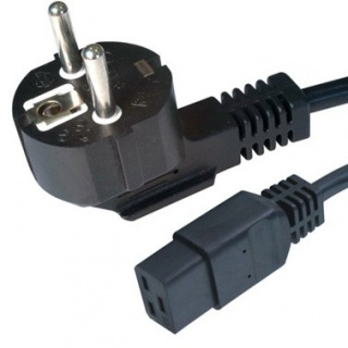 Cablu alimentare 1.8m C19 16A, Gembird PC-186-C19