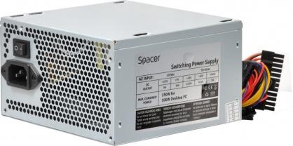 Sursa 500W cu ventilator 12mm, Spacer SPS-ATX-500-V12