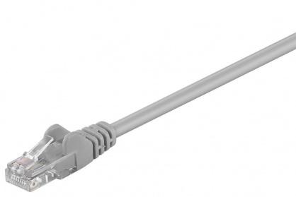 Cablu retea UTP cat.6 Gri 0.25m, sp6utp002