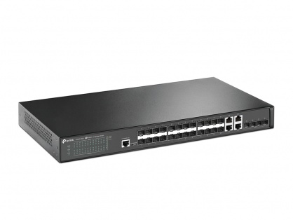 Switch JetStream 28 porturi Gigabit SFP L2 Managed, TP-LINK T2600G-28SQ