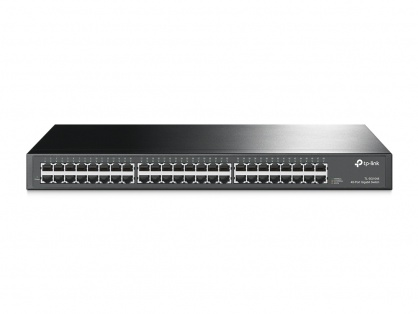 "Switch 48 porturi Gigabit, carcasa metalica, rack 19"", TP-LINK TL-SG1048"