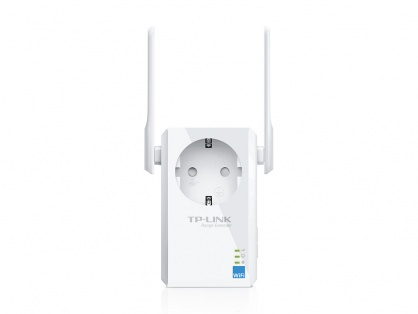 Range Extender Universal WiFi 300Mbps cu AC Passthrough, TP-Link TL-WA860RE