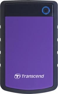 """HDD extern 2.5"""" USB 3.0 2TB StoreJet 2.5"""" H3P Purple, TRANSCEND"""