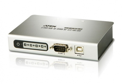 Adaptor USB la 4 x Serial RS-422/485, ATEN UC4854