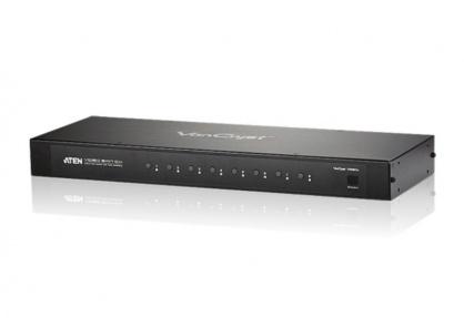Switch VGA cu Audio 8 porturi cu telecomanda, ATEN VS0801A