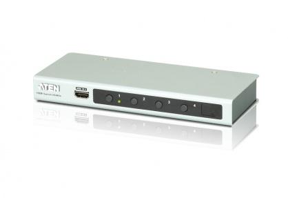 Switch HDMI 4K 4 porturi cu telecomanda, ATEN VS481B