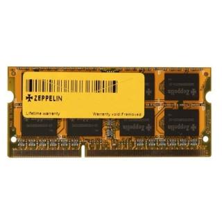 Memorie ZEPPELIN SODIMM 4GB DDR3 1600MHz, ZE-SD3-4G1600