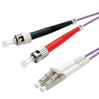 Cablu fibra optica LC-ST OM4 duplex multimode 1m, Value 21.99.8771