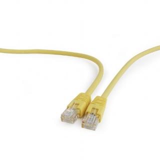 Cablu retea UTP Cat.5e 0.5m galben, Gembird PP12-0.5M/Y