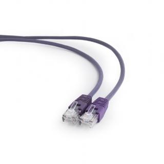 Cablu retea UTP Cat.5e 0.25m Mov, Gembird PP12-0.25M/V