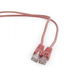 Cablu retea UTP cat 5E 5m roz, Gembird PP12-5M/RO