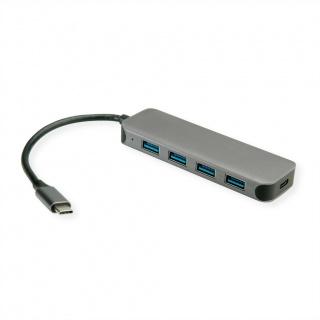 HUB USB-C 3.2 Gen 1 la 4 x USB-A + PD, Value 14.99.5038