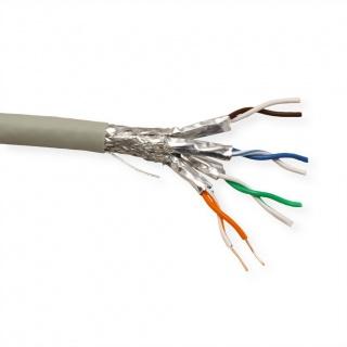 Rola cablu de retea S/FTP Cat.6A (Class EA) fir solid, 300m, Roline 21.15.0884