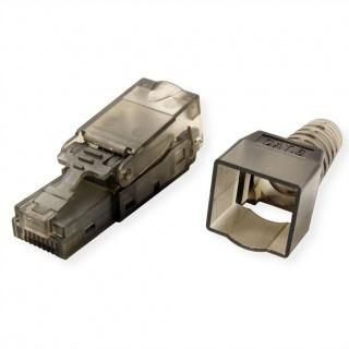 Conector retea RJ45 Cat.6 UTP pentru fir solid AWG 23-26, Value 26.99.0370